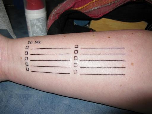 Se faire tatouer l'avant-bras ?