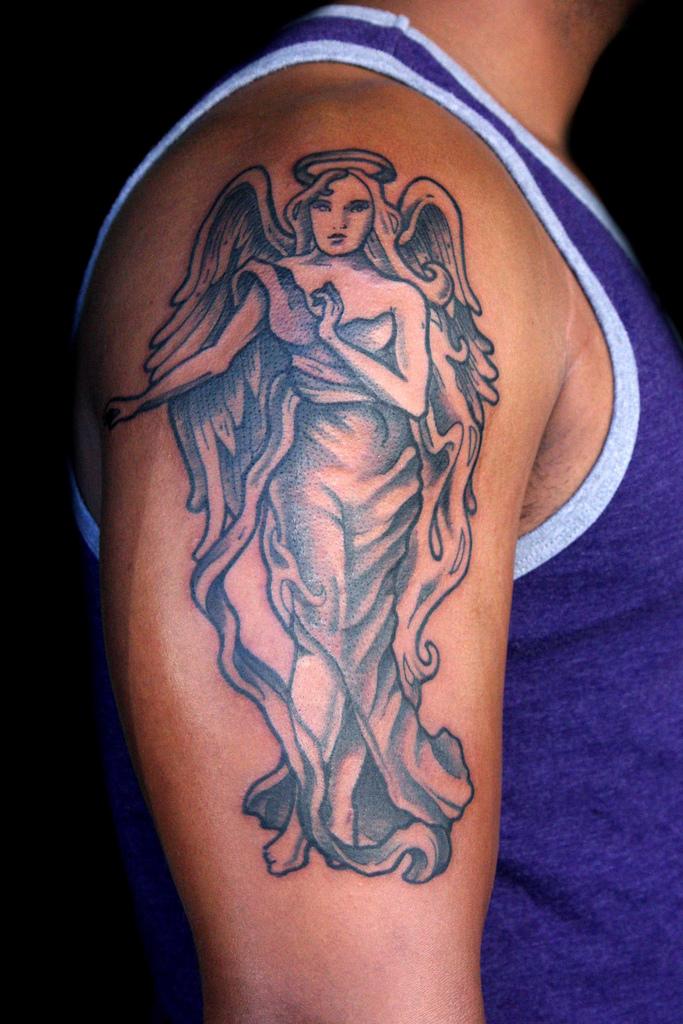 Tatouage ange