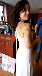 Le tatouage épaule