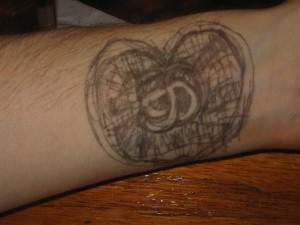 faux tatouage
